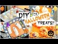 LAST MINUTE DIY HALLOWEEN TREATS! ♡  Party Ideas!